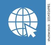 website icon. white silhouette... | Shutterstock .eps vector #1014316981
