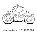 Halloween Lantern Coloring...