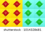 creative sale banner with 75 ...   Shutterstock .eps vector #1014328681