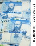 chilean peso   money   bills | Shutterstock . vector #1014341791