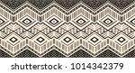ikat geometric folklore... | Shutterstock .eps vector #1014342379