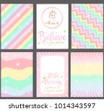 Set Of Colored Pastel Vector...