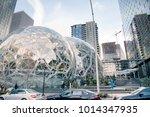 editorial seattle  washington... | Shutterstock . vector #1014347935