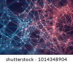 3d illustration of connections... | Shutterstock . vector #1014348904