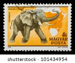 hungary   circa 1981  a stamp... | Shutterstock . vector #101434954