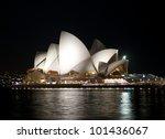 sydney   april 14  sydney opera ...   Shutterstock . vector #101436067