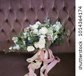it is bunch of flowers wedding. ...   Shutterstock . vector #1014364174