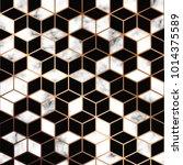 vector marble texture  seamless ... | Shutterstock .eps vector #1014375589
