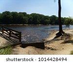 fast flowing stream in... | Shutterstock . vector #1014428494