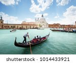 grand canal and basilica santa... | Shutterstock . vector #1014433921