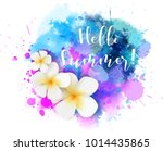 purple and blue colored...   Shutterstock .eps vector #1014435865