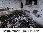 an abandoned farm property near ...   Shutterstock . vector #1014448045