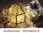 beautiful spring flowers with... | Shutterstock . vector #1014463111
