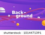 vector background with bright... | Shutterstock .eps vector #1014471391