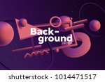 vector background with bright... | Shutterstock .eps vector #1014471517