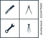 vector illustration set cinema...   Shutterstock .eps vector #1014479605