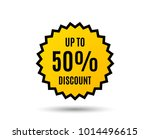 up to 50  discount. sale offer...   Shutterstock .eps vector #1014496615