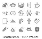 public services line icons. set ...   Shutterstock .eps vector #1014496621