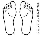 feet foot legs | Shutterstock .eps vector #1014502981