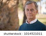 senior mature man serious face   Shutterstock . vector #1014521011