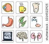 hospital medical sketch... | Shutterstock .eps vector #1014522925
