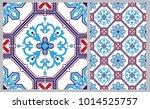 arabic patter style tiles for... | Shutterstock .eps vector #1014525757