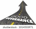 good governance oversight... | Shutterstock . vector #1014533971