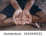selective soft focus. hands... | Shutterstock . vector #1014540151