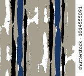 seamless grunge stripes.... | Shutterstock .eps vector #1014555091