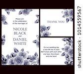 vintage delicate invitation... | Shutterstock . vector #1014559567