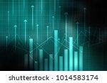 2d rendering stock market... | Shutterstock . vector #1014583174
