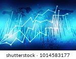 2d rendering stock market... | Shutterstock . vector #1014583177