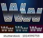 vector reflective abstract... | Shutterstock .eps vector #1014590755