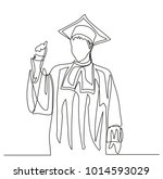 continuous line drawing....   Shutterstock .eps vector #1014593029