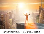 businessman ready for new... | Shutterstock . vector #1014604855