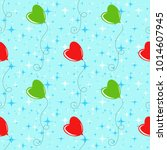 colorful seamless pattern of... | Shutterstock .eps vector #1014607945