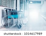 Row Wheelchairs In The Hospita...