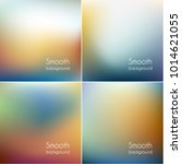 smooth colorful blurry... | Shutterstock .eps vector #1014621055