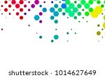 dark multicolor  rainbow vector ... | Shutterstock .eps vector #1014627649