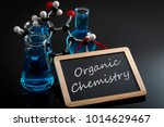 chemical reaction  science... | Shutterstock . vector #1014629467