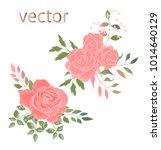 vector illustration of branch... | Shutterstock .eps vector #1014640129