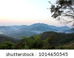 mountains view from phu huay... | Shutterstock . vector #1014650545