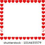 logo love . symbol heart grunge ...   Shutterstock .eps vector #1014655579