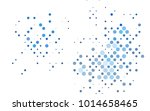 light blue vector red pattern... | Shutterstock .eps vector #1014658465