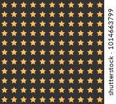 nice cartoon star pattern with... | Shutterstock . vector #1014663799