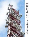 radio relay antennas on the