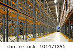 inside view of large industrial ... | Shutterstock . vector #101471395