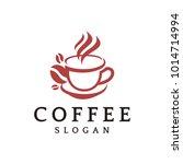 coffee logo vector graphic... | Shutterstock .eps vector #1014714994