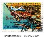 mozambique   circa 1962  a... | Shutterstock . vector #101472124
