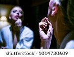 russian drag queen | Shutterstock . vector #1014730609